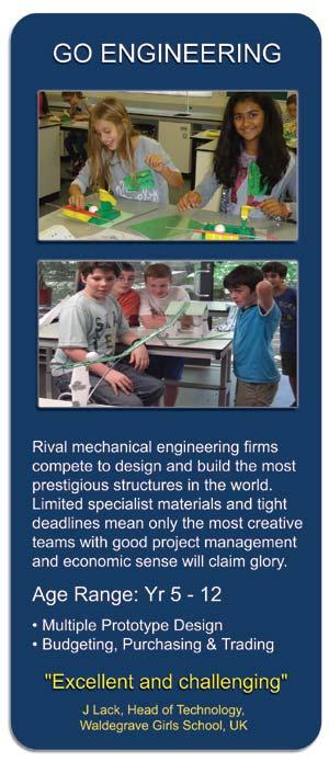 Go Engineering - STEM Workshop for Schools