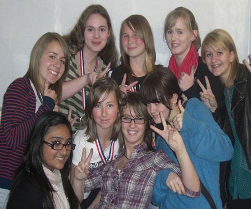 KS4 Medalists in Summer School Workshop from Thinkers in Education
