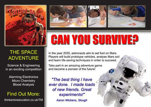 Target Mars - STEM Adventure Workshop